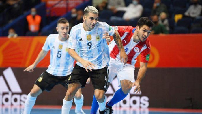 Diario del Oeste | Argentina goleó a Paraguay en el Mundial de Futsal y pasó  a cuartos de final