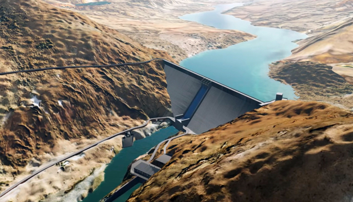 Resultado de imagen para Firmaron el llamado a licitación del megaproyecto hidroeléctrico Portezuelo del Viento