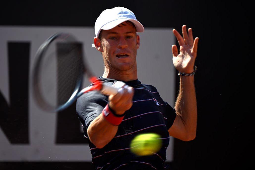 Diario Del Oeste Masters 1000 De Roma Diego Schwartzman Remonto Gano Y Se Medira Ante Rafael Nadal En Cuartos De Final